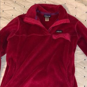 Patagonia button pullover